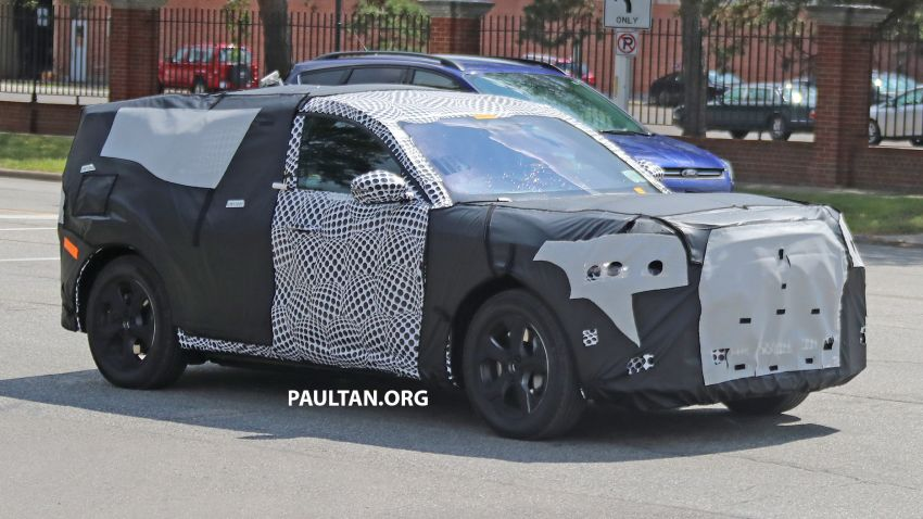 SPIED: Ford Mach E – Mustang-inspired electric SUV Image #1005069