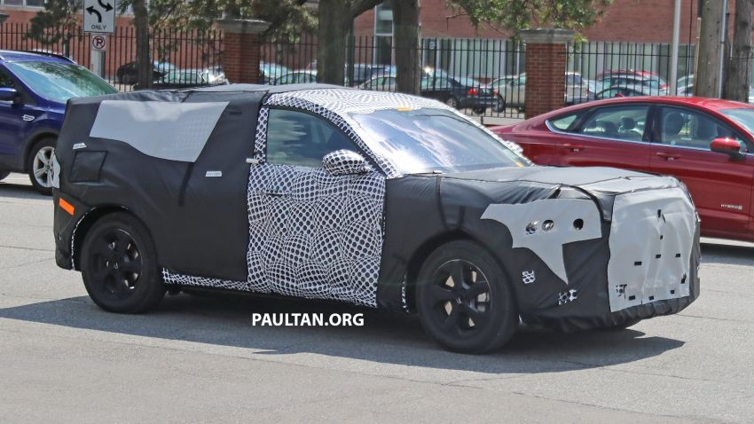 SPIED: Ford Mach E – Mustang-inspired electric SUV Image #1005070
