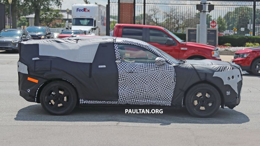 SPIED: Ford Mach E – Mustang-inspired electric SUV Image #1005072