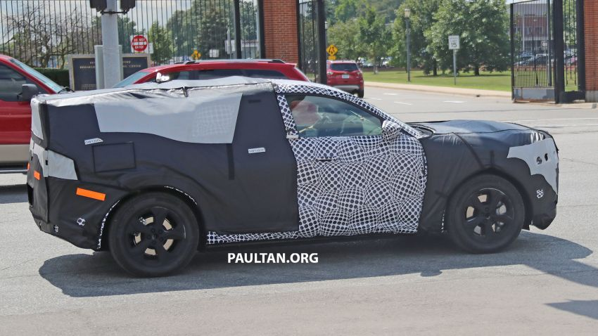 SPIED: Ford Mach E – Mustang-inspired electric SUV Image #1005074