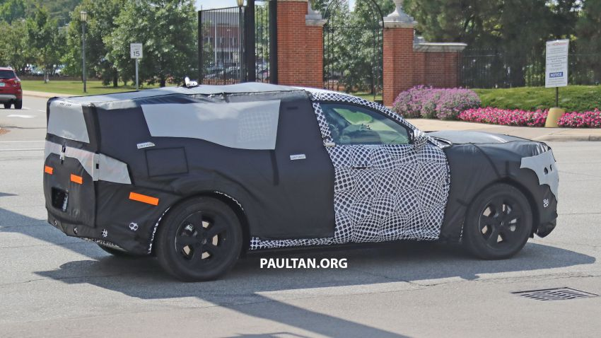 SPIED: Ford Mach E – Mustang-inspired electric SUV Image #1005075