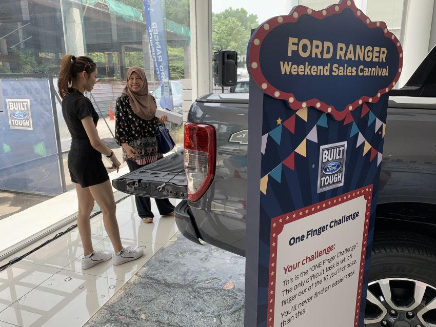 Ford Ranger Weekend Sales Carnival from Aug to Oct Image #1004832