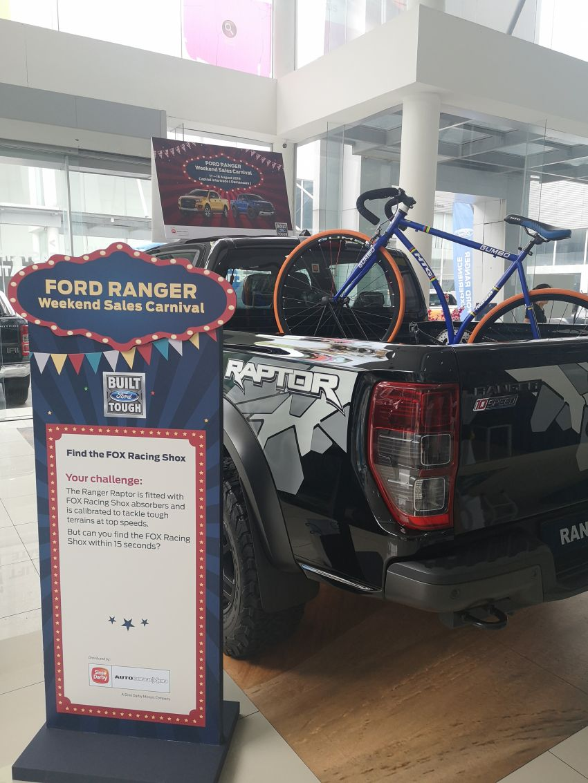 Ford Ranger Weekend Sales Carnival from Aug to Oct Image #1004833