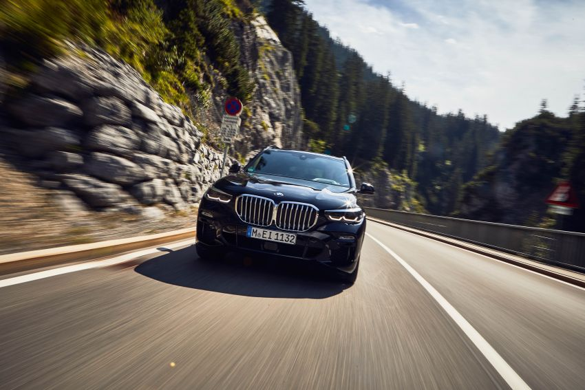G05 BMW X5 xDrive45e iPerformance plug-in hybrid market launch begins – 1.2 l/100 km, 87 km EV range Image #1008932
