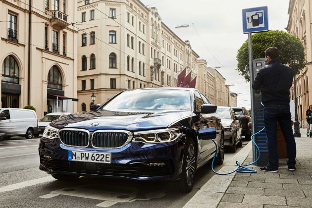 G30 BMW 530e updated with new battery – 57 km electric range, 1 5