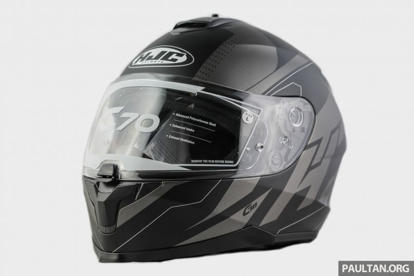 REVIEW: HJC C70 sport touring helmet, RM949 Image #1001084