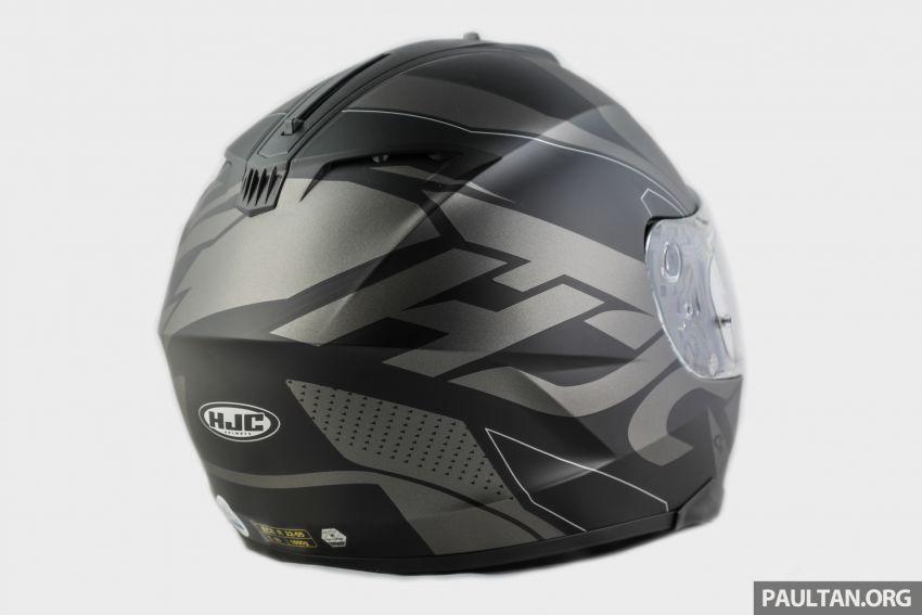 REVIEW: HJC C70 sport touring helmet, RM949 Image #1001088