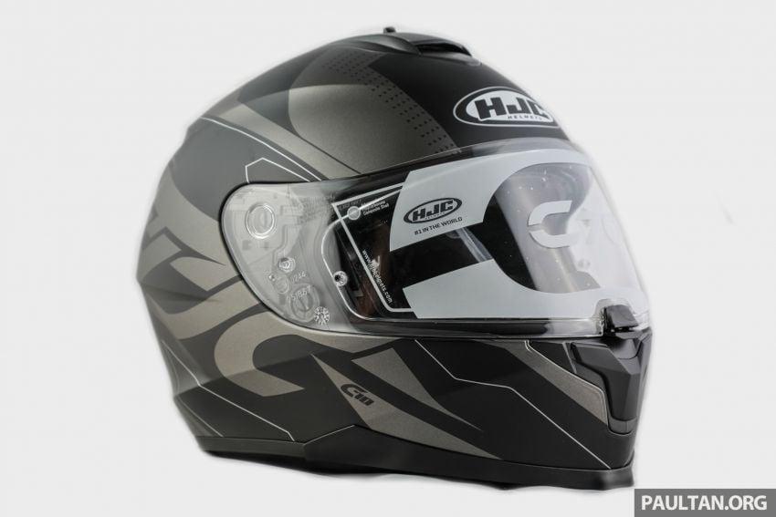REVIEW: HJC C70 sport touring helmet, RM949 Image #1001092