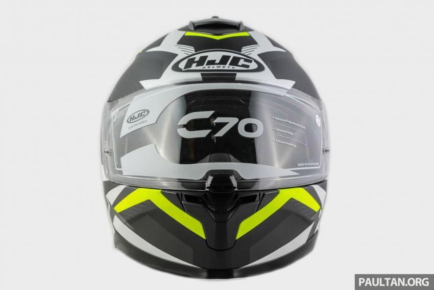 REVIEW: HJC C70 sport touring helmet, RM949 Image #1001104