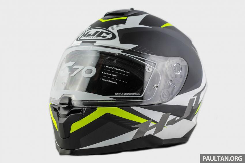 REVIEW: HJC C70 sport touring helmet, RM949 Image #1001107