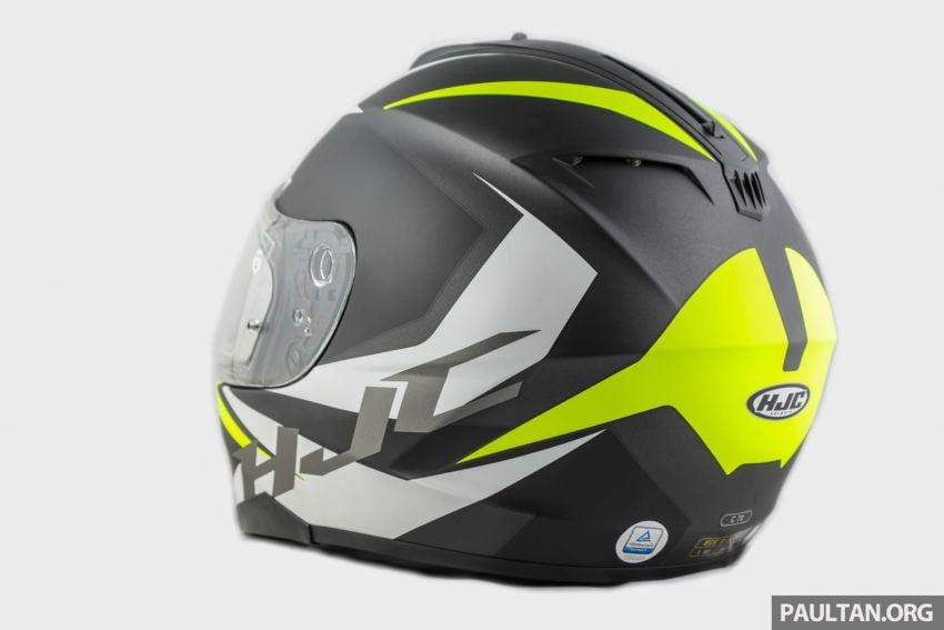REVIEW: HJC C70 sport touring helmet, RM949 Image #1001113