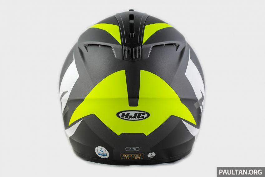 REVIEW: HJC C70 sport touring helmet, RM949 Image #1001116