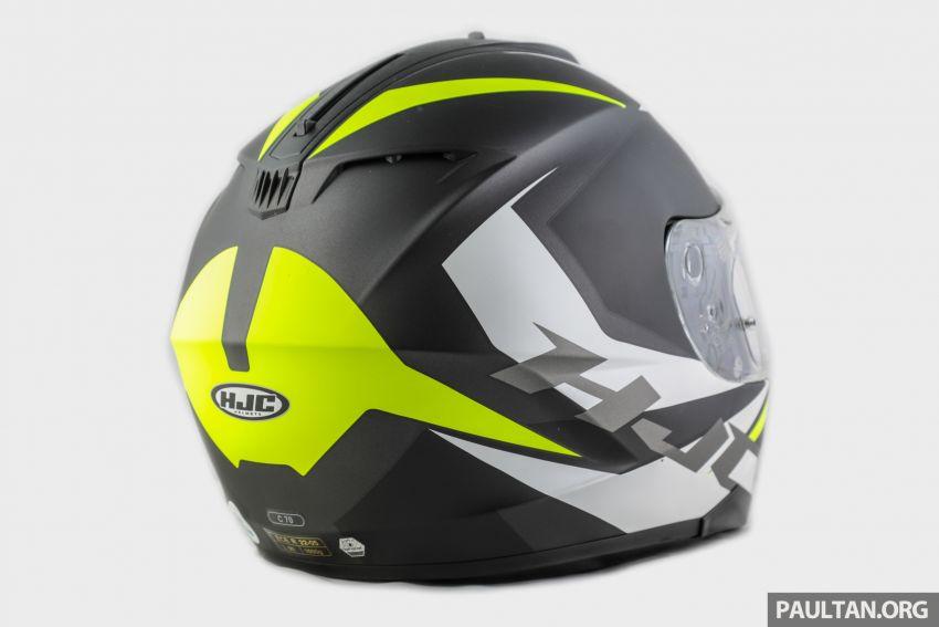 REVIEW: HJC C70 sport touring helmet, RM949 Image #1001119