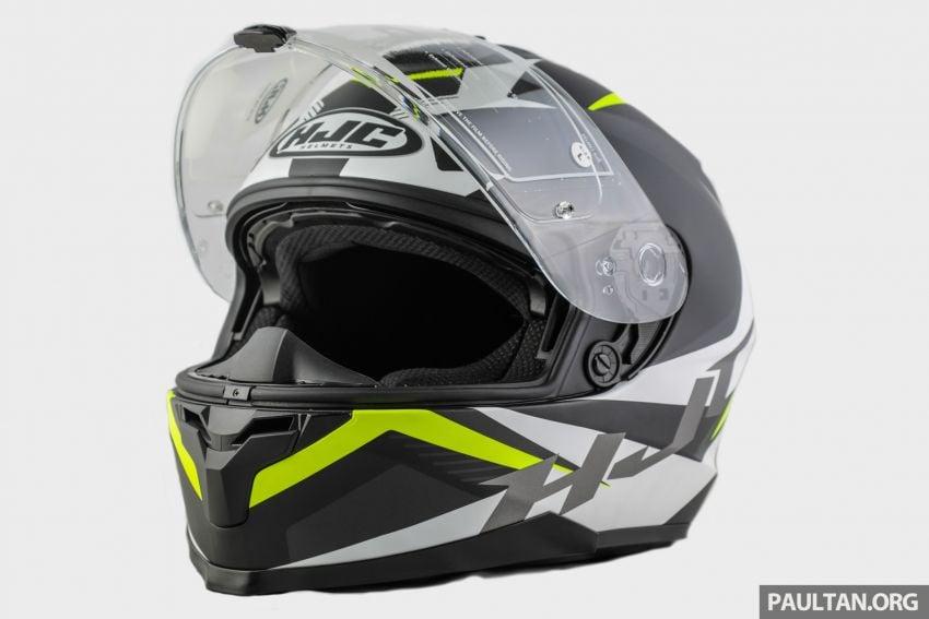 REVIEW: HJC C70 sport touring helmet, RM949 Image #1001123
