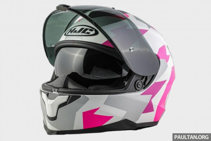 REVIEW: HJC C70 sport touring helmet, RM949 Image #1001139