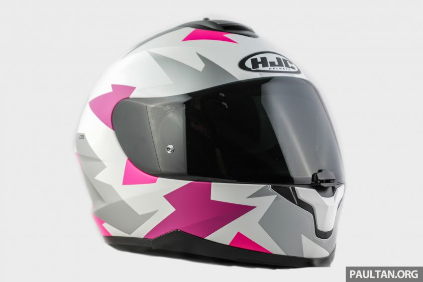 REVIEW: HJC C70 sport touring helmet, RM949 Image #1001131