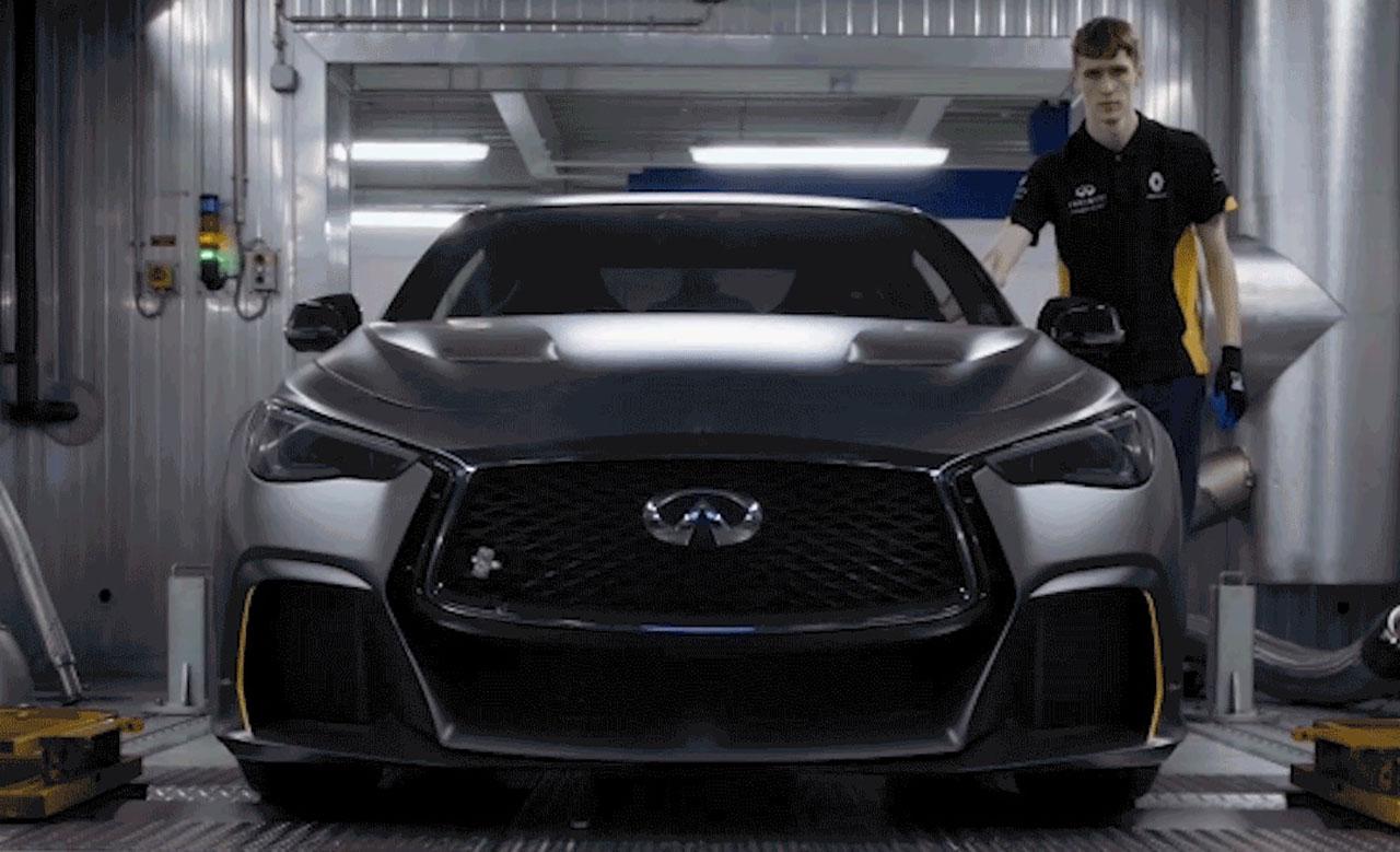 Infiniti Q60 Project Black S Prototype Completes Hybrid