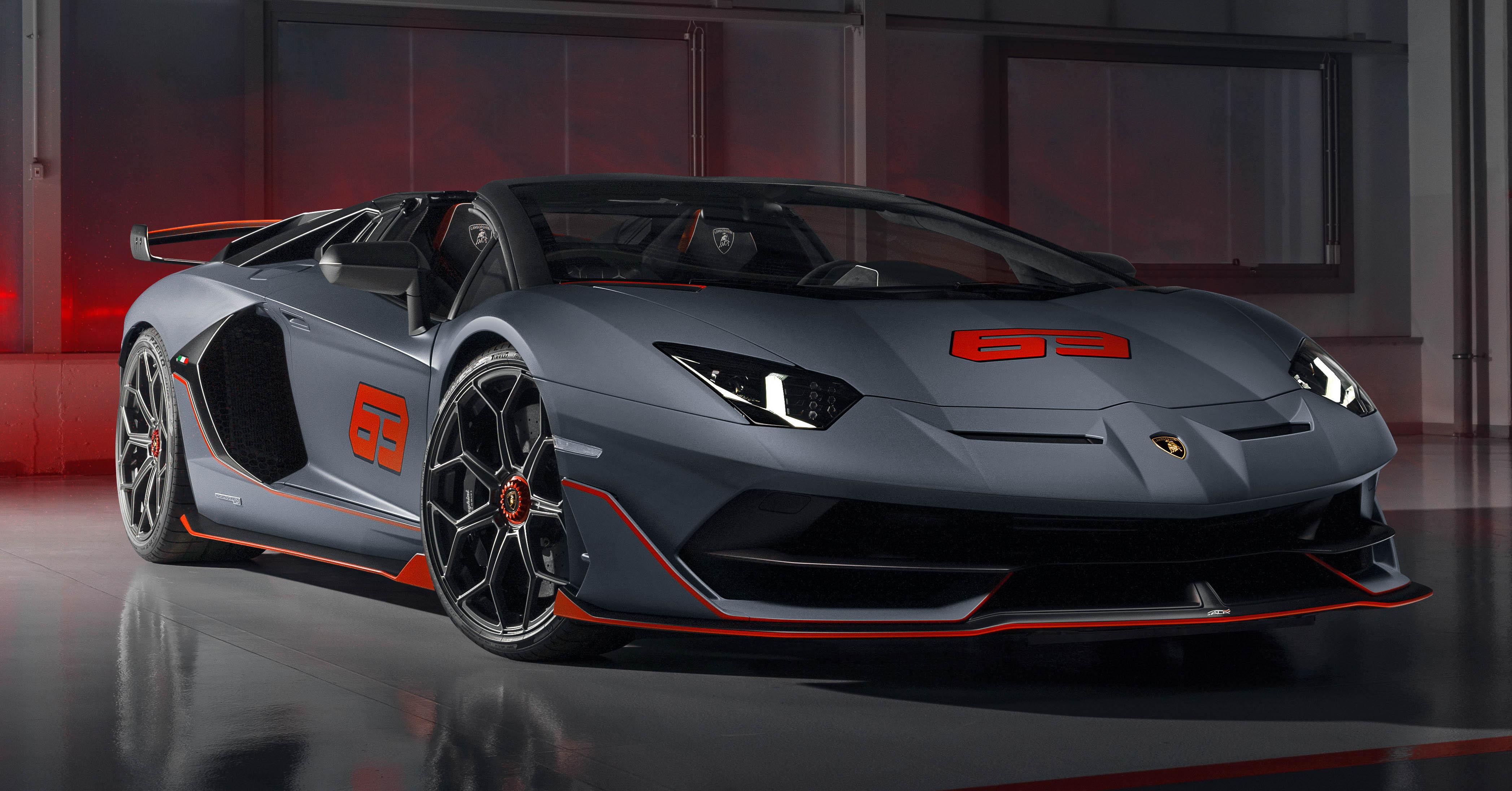 Lamborghini Aventador Svj 63 Roadster And Huracan Evo Gt Celebration Debut At Monterey Car Week Paultan Org