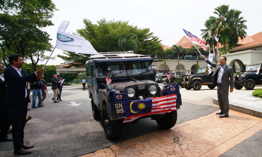 The 1955 'Oxford' Land Rover Series I pit stops in Malaysia – 10k mile drive from Singapore to London Image #1008504