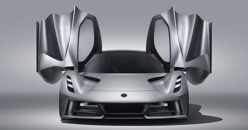 Lotus Evija off to great start, gets double-digit orders Image #1006108