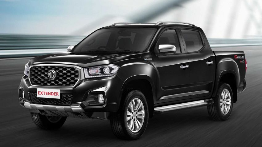 MG Extender pick-up truck launched in Thailand – 161 hp, 375 Nm 2.0L, Maxus T60 with a different badge Image #1001394
