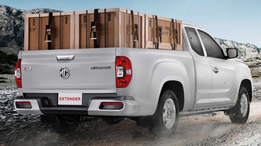 MG Extender pick-up truck launched in Thailand – 161 hp, 375 Nm 2.0L, Maxus T60 with a different badge Image #1001401