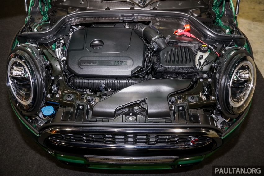 GALERI: MINI 60 Years Edition – varian Cooper S 3 Door Hatchback, terhad 60 unit sahaja, RM256k Image #1002467