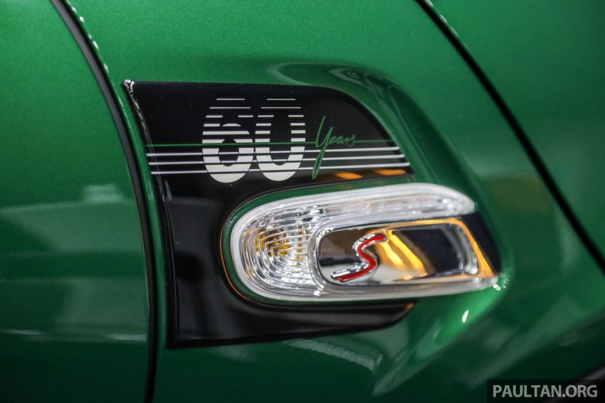 GALERI: MINI 60 Years Edition – varian Cooper S 3 Door Hatchback, terhad 60 unit sahaja, RM256k Image #1002460