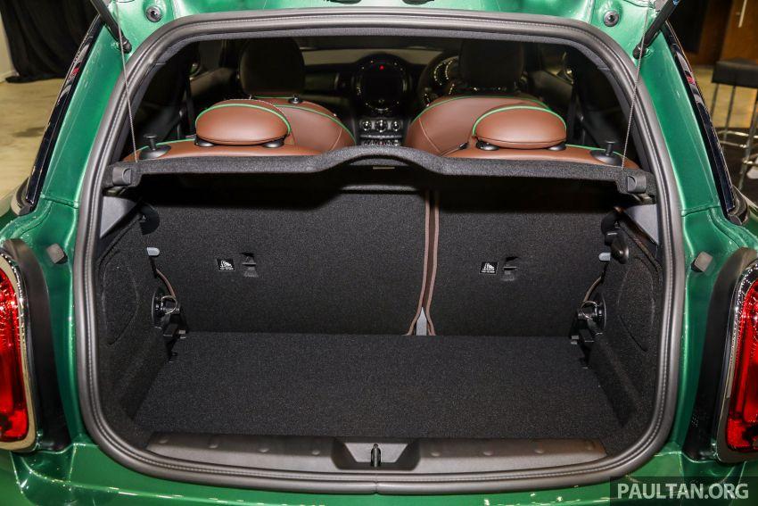 GALERI: MINI 60 Years Edition – varian Cooper S 3 Door Hatchback, terhad 60 unit sahaja, RM256k Image #1002484