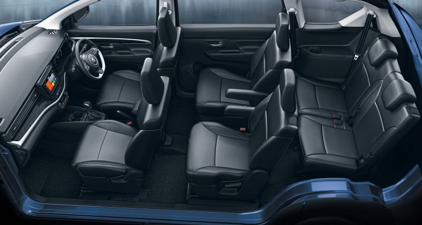 Suzuki XL6 launched, rugged Ertiga with captain seats Image #1005217