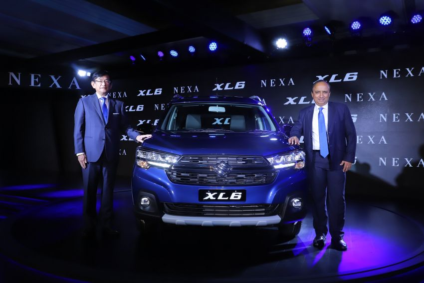 Suzuki XL6 launched, rugged Ertiga with captain seats Image #1005219