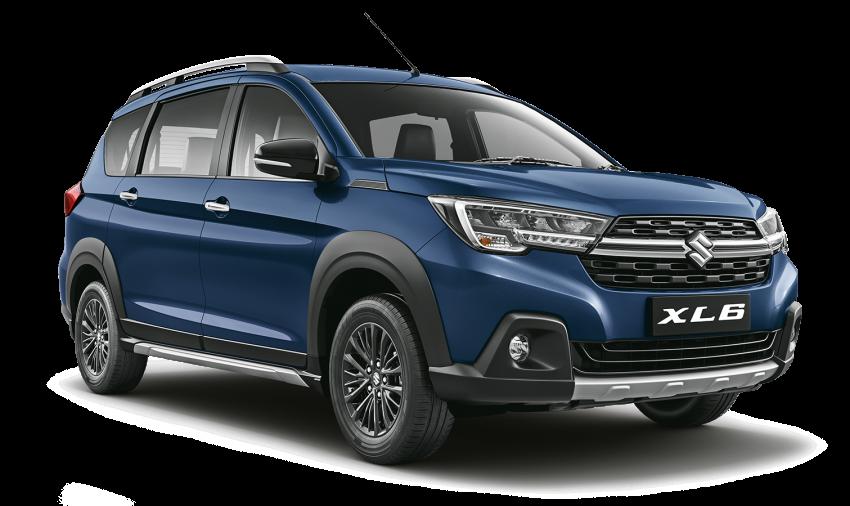 Suzuki XL6 launched, rugged Ertiga with captain seats Image #1005220