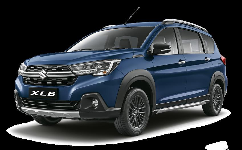 Suzuki XL6 launched, rugged Ertiga with captain seats Image #1005221