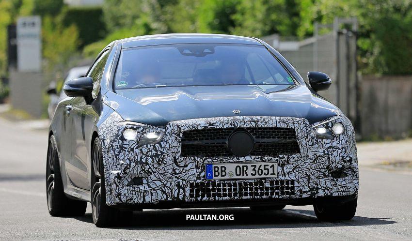 SPYSHOTS: Mercedes-AMG E53 coupe facelift spotted Image #1004231