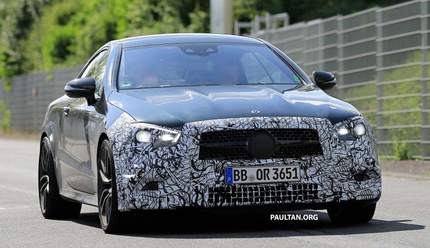 SPYSHOTS: Mercedes-AMG E53 coupe facelift spotted Image #1004234