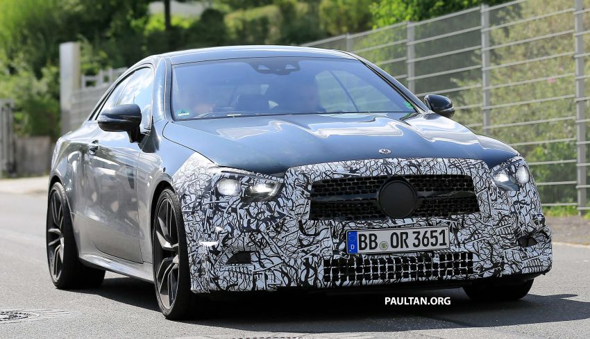 SPYSHOTS: Mercedes-AMG E53 coupe facelift spotted Image #1004235