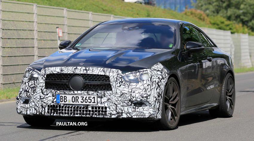 SPYSHOTS: Mercedes-AMG E53 coupe facelift spotted Image #1004241