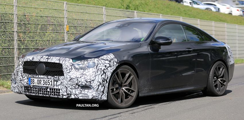 SPYSHOTS: Mercedes-AMG E53 coupe facelift spotted Image #1004242