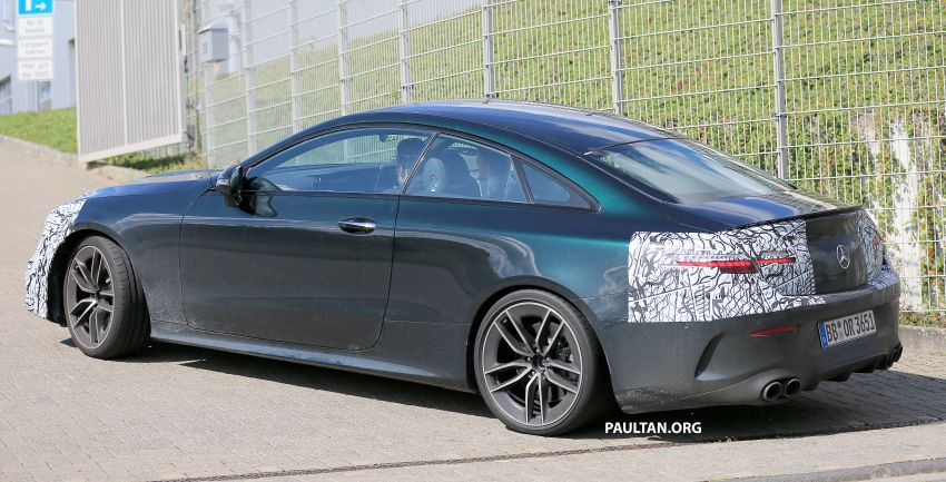 SPYSHOTS: Mercedes-AMG E53 coupe facelift spotted Image #1004248