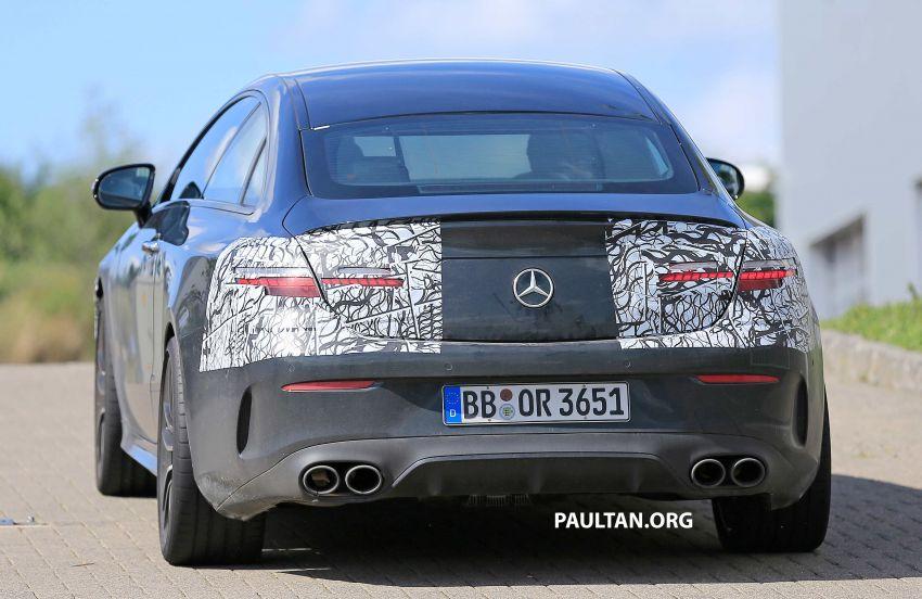 SPYSHOTS: Mercedes-AMG E53 coupe facelift spotted Image #1004251