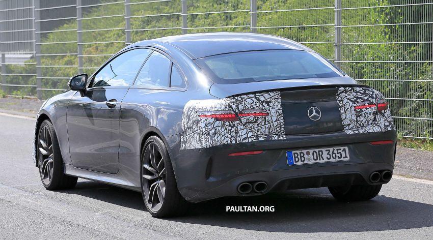 SPYSHOTS: Mercedes-AMG E53 coupe facelift spotted Image #1004227