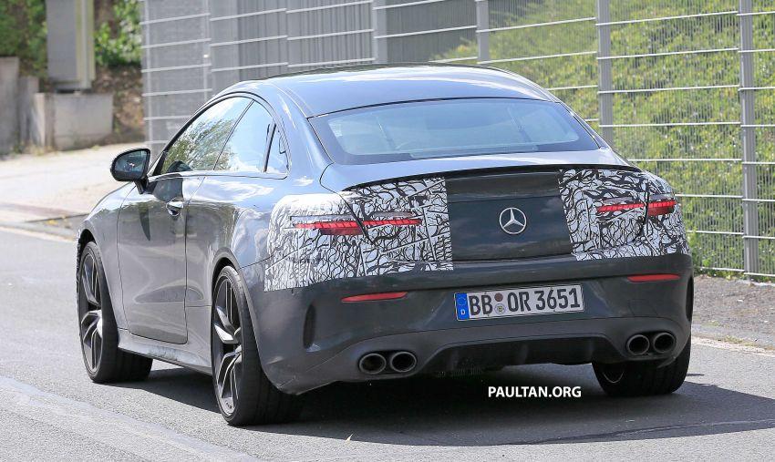 SPYSHOTS: Mercedes-AMG E53 coupe facelift spotted Image #1004229