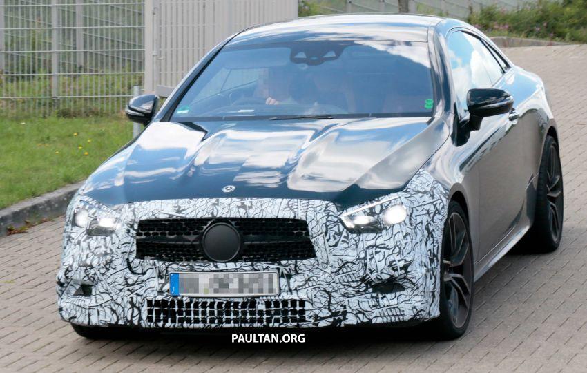SPYSHOTS: Mercedes-AMG E53 coupe facelift spotted Image #1003906