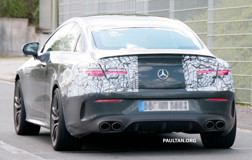 SPYSHOTS: Mercedes-AMG E53 coupe facelift spotted Image #1003931