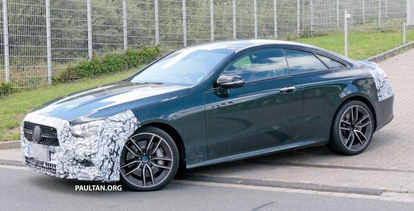 SPYSHOTS: Mercedes-AMG E53 coupe facelift spotted Image #1003912
