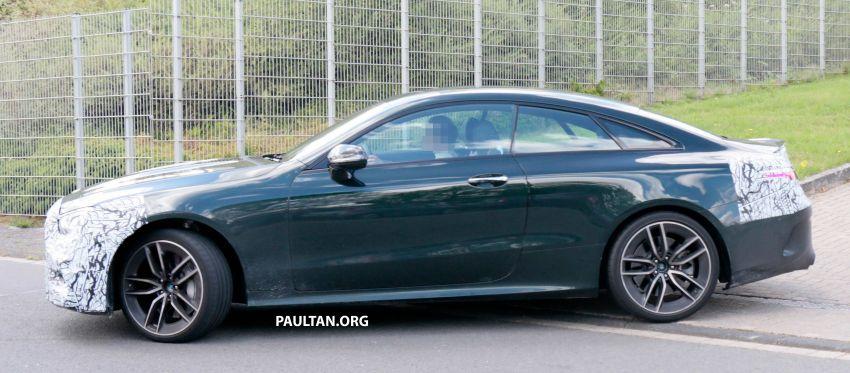 SPYSHOTS: Mercedes-AMG E53 coupe facelift spotted Image #1003923
