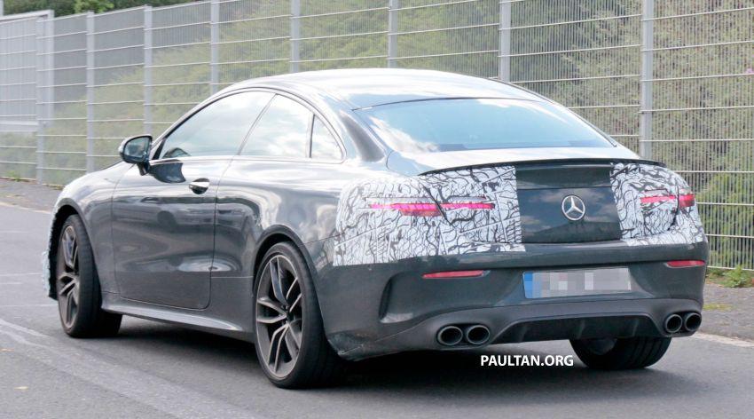 SPYSHOTS: Mercedes-AMG E53 coupe facelift spotted Image #1003930