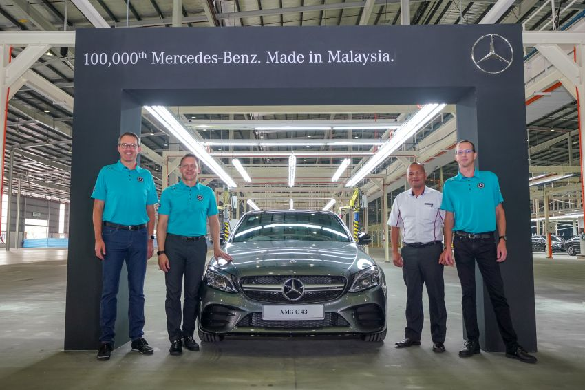 Mercedes-Benz Malaysia rolls out 100,000th car from Pekan plant, celebrates 15 years at expanded facility Image #1005662