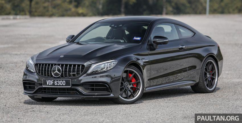 PANDU UJI: Mercedes-AMG C 63 S Coupe 2019 – dentuman V8 turbo berkembar 4.0 liter ala-Jerman! Image #1004324
