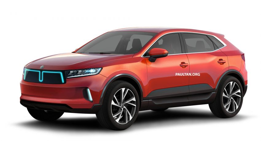 Mimco Alif – production version of electric SUV, Malaysia's New National Car Project hopeful imagined Image #998003